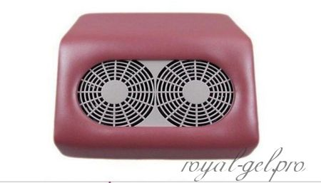Фрезер с вытяжкой на два вентилятора 290А (цвет розовый)