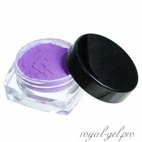 """Пудра для ногтей """"Термо"""", цвет фиолетовый"""