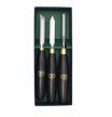 Резцы токарные Crown HSS Pen Turning Set длина 220 мм,  лезвие 78 мм, 3 шт М00005572