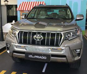 Защита переднего бампера Тип - 1 для Toyota Land Cruiser Prado 150 2017 -