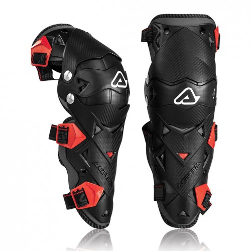 Наколенники Acerbis Knee Guard Impact Evo 3.0 Black/Red