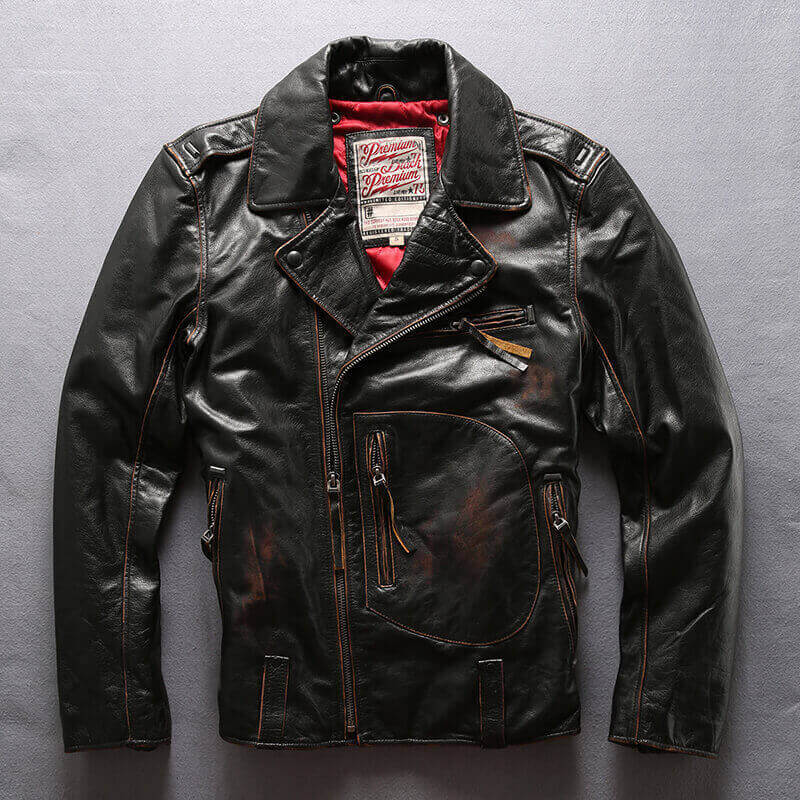 Мотоциклетная куртка Affliction Premium косуха ретро