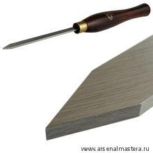 Резец токарный Crown HSS Parting Triangular Tool 3мм, рукоять 216мм М00003824