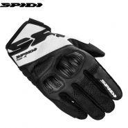 Мотоперчатки Spidi Flash-R Evo, Черно-белые