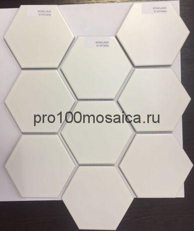 PS95110-15. Мозаика СОТЫ, серия PORCELAIN,  размер, мм: 256*295 (NS Mosaic)