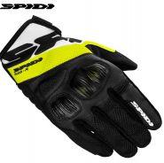 Мотоперчатки Spidi Flash-R Evo, Черно-желтые