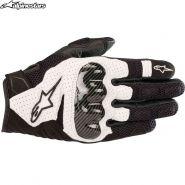 Мотоперчатки Alpinestars SMX 1 Air V2, Черно-белые