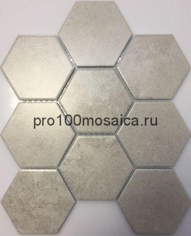 PS95110-14. Мозаика СОТЫ, серия PORCELAIN,  размер, мм: 256*295 (NS Mosaic)
