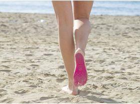 Наклейки на ступни ног