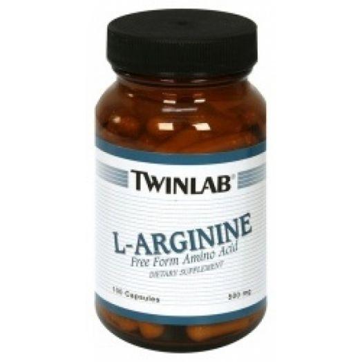 Twinlab - L-Arginine 500 mg (100 капс)