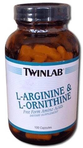Twinlab - L-Arginine/L-Ornithine (100 капс)