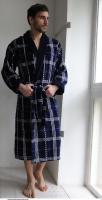 Классический мужской халат Cotton Lux 3, Five Wien