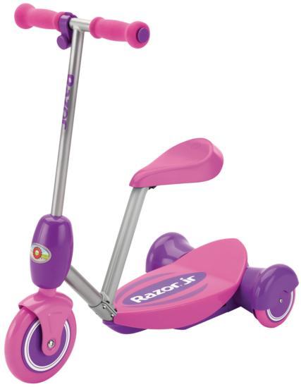Электросамокат с сиденьем Razor Lil E, розовый