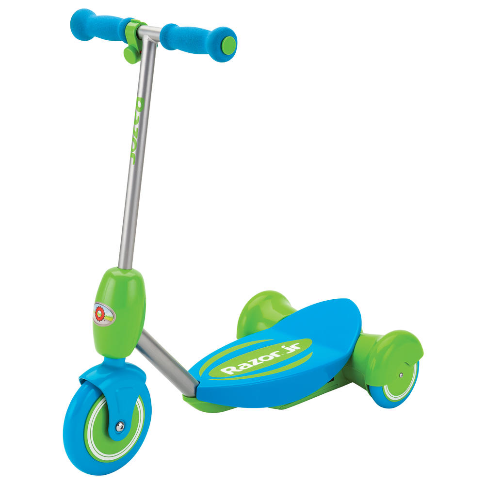 Электросамокат с сиденьем Razor Lil E голубой купить в москве