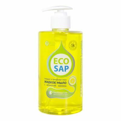 Жидкое мыло лимон с дозатором EcoSap (ЭкоСап) 460 мл