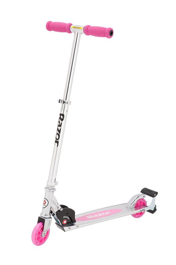 Самокат Razor Spark розовый купить