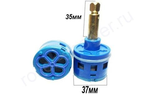 Картридж для смесителя на 5 режимов D-37мм L-35мм для душевой кабины