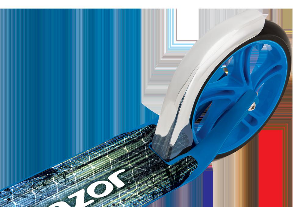 Складной городской самокат Razor A5 Lux синий купить