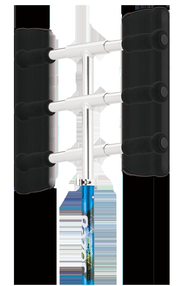 Складной городской самокат Razor A5 Lux синий недорого