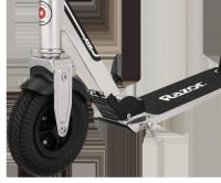 Самокат с надувными колёсами Razor A5 Air серебристый