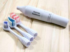 Электрическая зубная щетка с функцией массажера