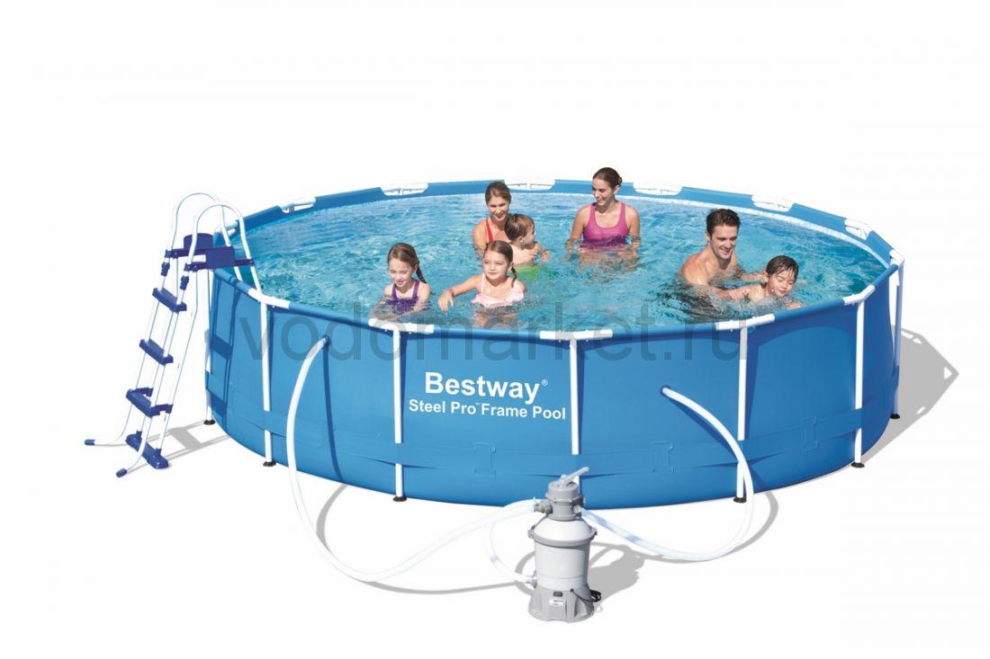 427х100см (56308) Bestway каркасный бассейн