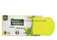Руп Мантра аюрведическое мыло Лайм Алоэ вера Дивиса| Roop Mantra Lime & Aloevera Ayurvedic Soap