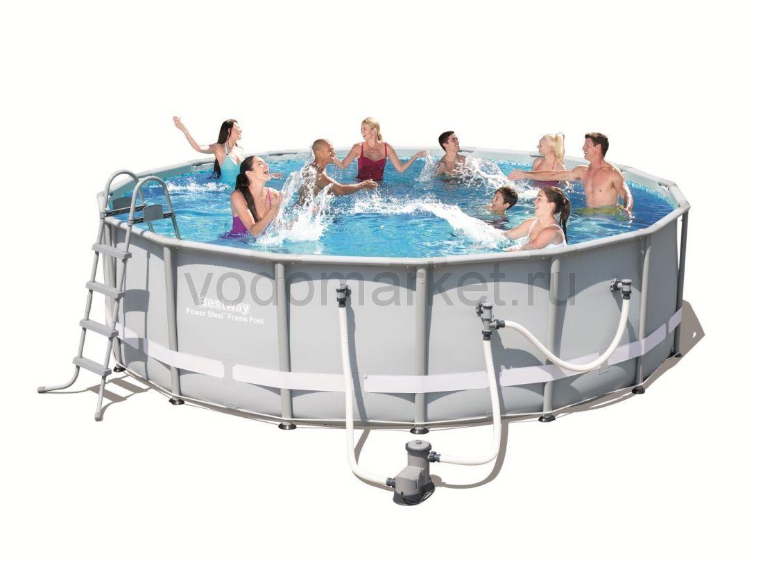 549х132 см (56233) Bestway каркасный бассейн