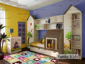 Детская комната Фанки Кидз Домик №4