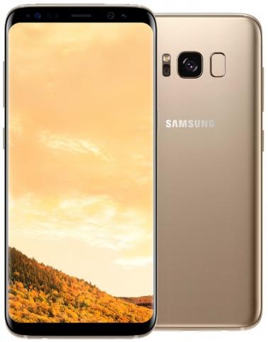 Samsung Galaxy S8 (желтый топаз)
