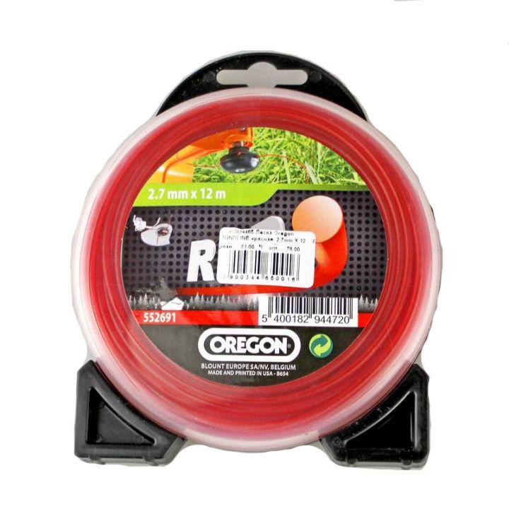 Леска ROUNDLINE красная  2,7mm X 12 m (блистер)