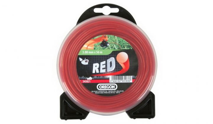 Леска ROUNDLINE красная  3,0mm Х 9 m (блистер)