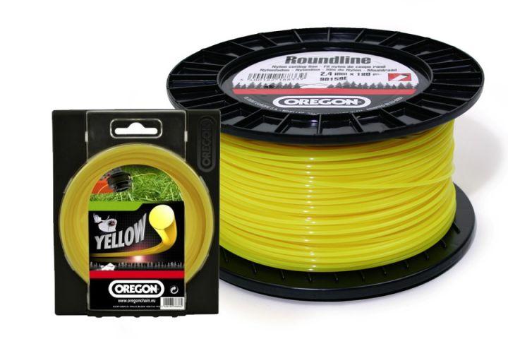 Леска желтая круг.сечения 2,0х15 м блистер