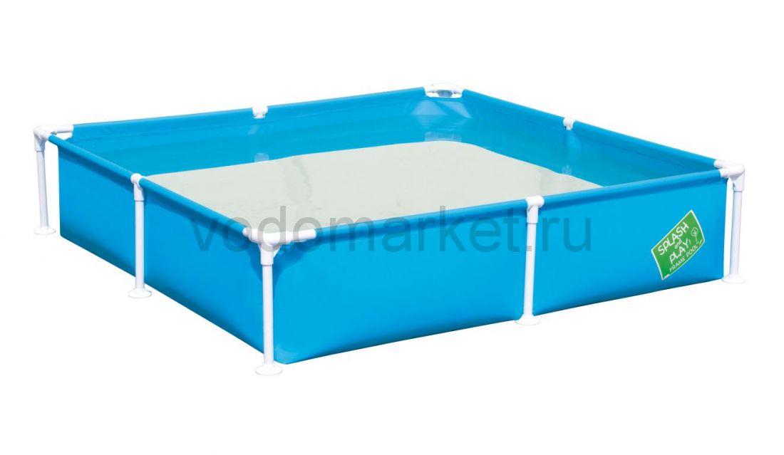 163x163x35,5см (56218) Bestway каркасный бассейн