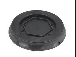 Rupes Диск-подошва шлифовальная, d125мм., 6 винтов, жесткая, 8+8+1 отв., липучка Velcro, для машинок RUPES LR71T/LR71TE, LR31