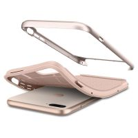 Купить чехол Spigen Neo Hybrid Herringbone для iPhone 8 Plus бежевый