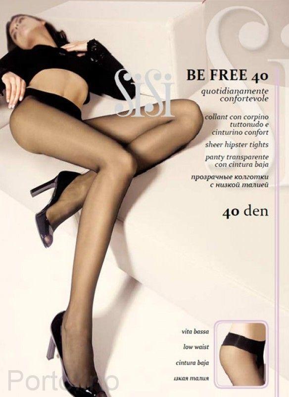 Be Free 40 женские колготки Sisi