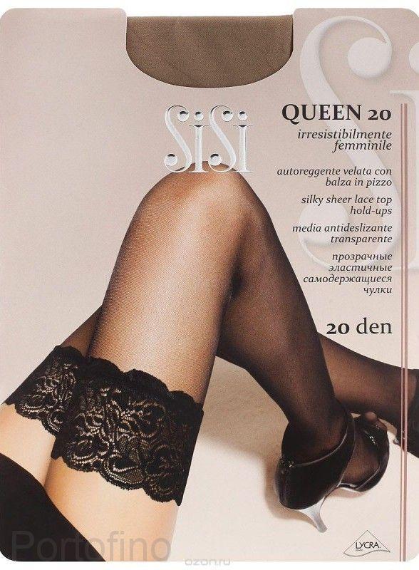 Queen 20 женские чулки Sisi