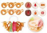 Формочки для рождественского песочного печенья DELICIA 8 шт 630912