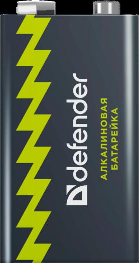 Батарейка KРОНА алкалиновая Defender 6LR61-1B