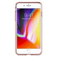 Купить чехол Spigen Ultra Hybrid 2 для iPhone 8 Plus кристально-розовый