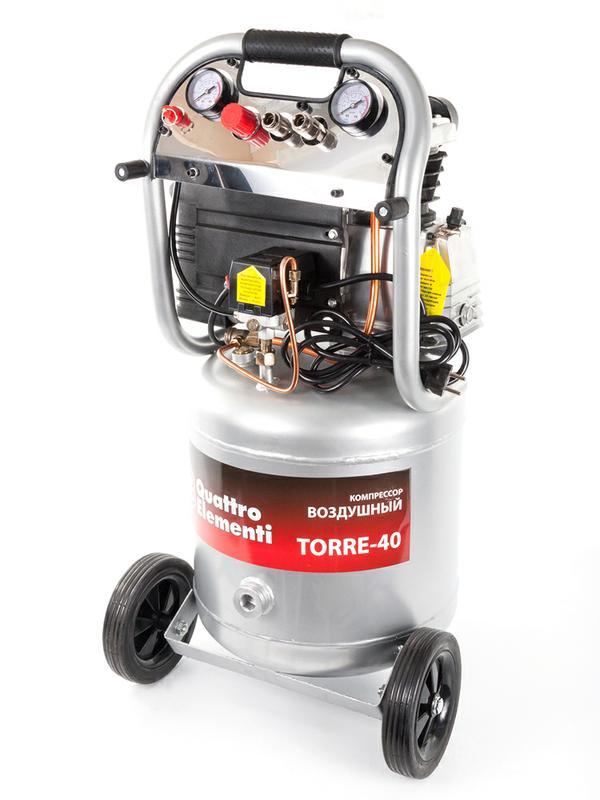 Компрессор поршневой масляный Quattro Elementi TORRE-40