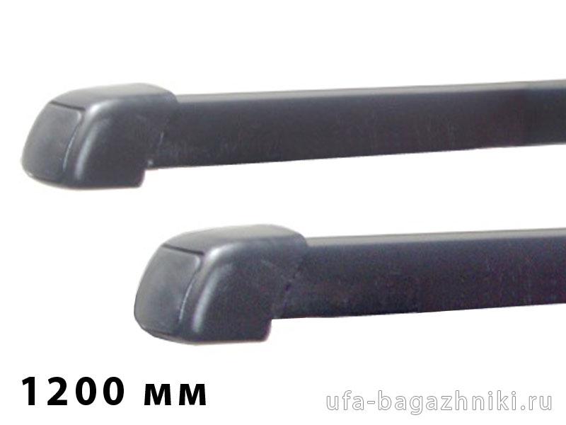 Дуги багажные, стальные в пластике, прямоугольный профиль, Lux - 1200 мм, артикул 691912