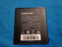 Аккумулятор для телефона Highscreen Zera S