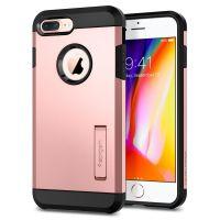 Чехол Spigen Tough Armor 2 для iPhone 8 Plus розовое золото