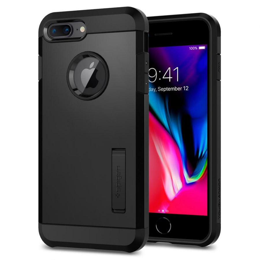 Чехол Spigen Tough Armor 2 для iPhone 8 Plus черный