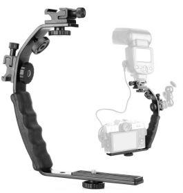 Кронштейн L-образный для камеры с двумя башмаками