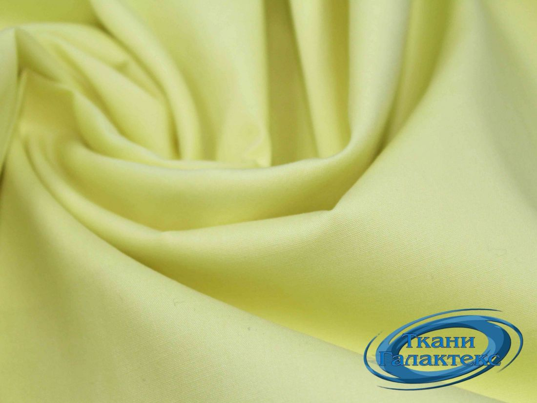 Хлопок однотонный VT-9725/C#17 желтый