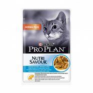 Pro Plan Derma Plus - Треска в соусе для кошек с чувствительной кожей (85 г)