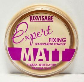"""Lux visage Пудра-фиксатор """"Expert matt"""" бесцветная, 9 г."""